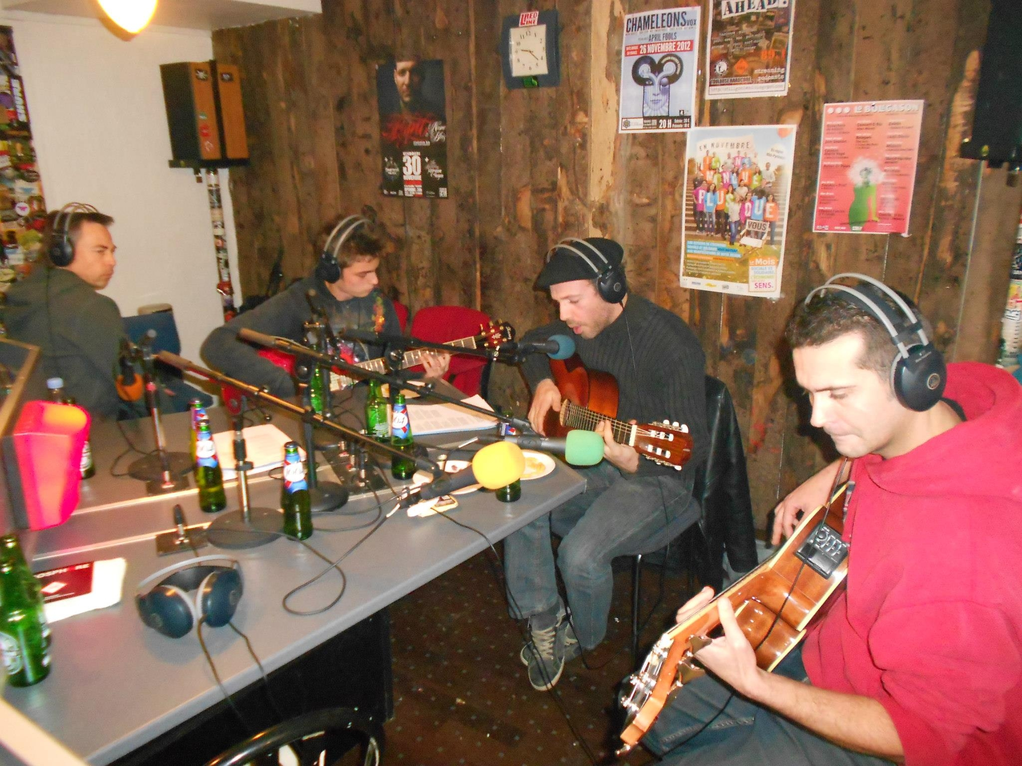 PHOSPHORE Live en Acoustique 2 (Radio FMR)